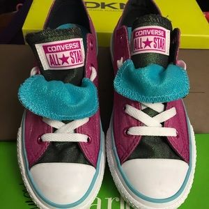 NWOT Kids Converse Shoes